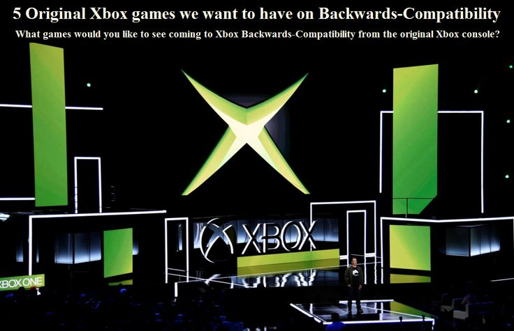 What games would you like to see coming to Xbox Backwards-Compatibility from the original Xbox console?  #Backwards-Compatibility #Microsoft #Xbox #XboxOne #RagingGazebo @RagingGazebo