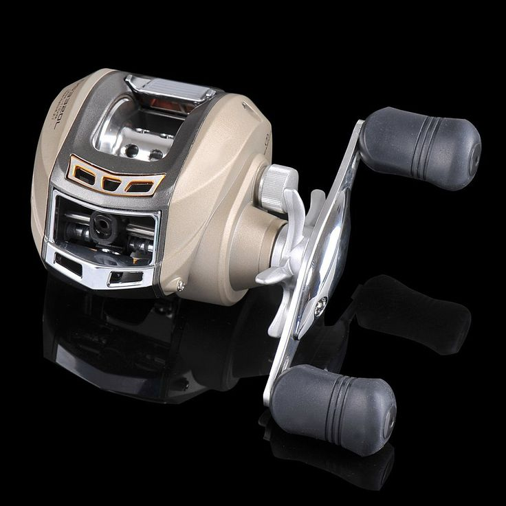Fiblink Low Profile Baitcasting baitcast Fishing Reel Baitcaster with 6 1 Ball Bearings 6.2:1 Gear Ratio for Saltwater Freshwater Inshore Fishing *** Learn more by visiting the image link.