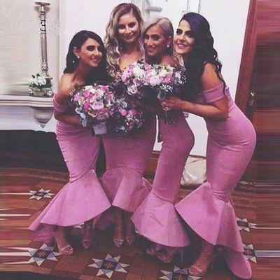 B5 bridesmaid dresses,mermaid bridesmaid dresses,off shoulder bridesmaid dresses,custom bridesmaid dress,ankle-length bridesmaid dresses