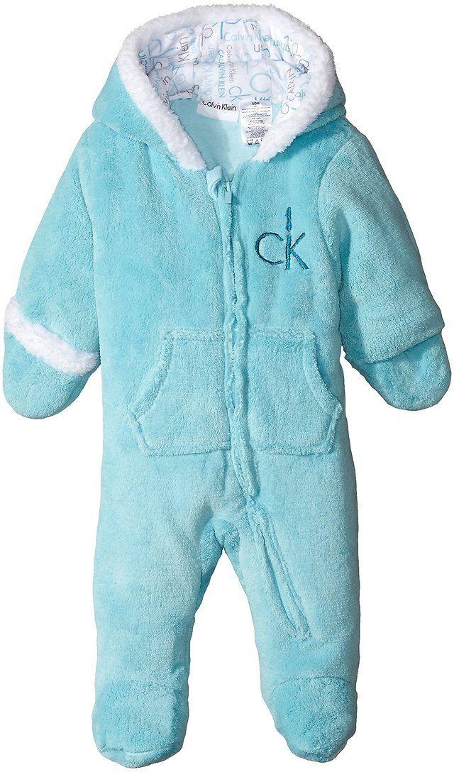 Calvin Klein Baby Boys' Blue Silky Sherpa Pram $9.99 (amazon.com)