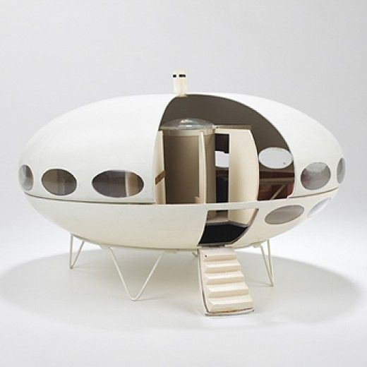 Matti Suuronen, Futuro architectural model Finland, c. 1968 The Futuro home was designed for a project to develop functional and efficient housing with prospects for mass production.
