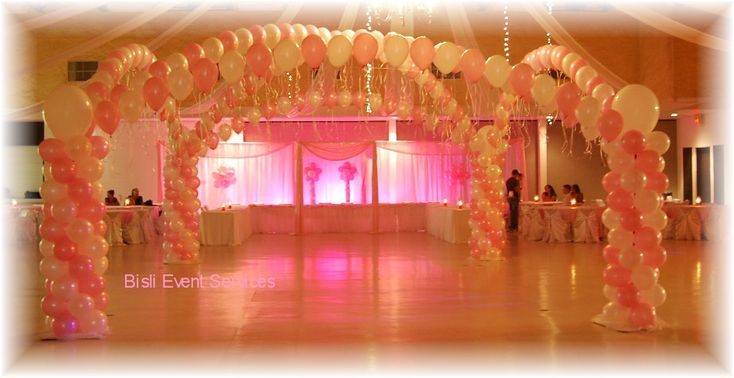 San antonio quincea era decorations pictures quinceanera for Balloon decoration ideas for quinceaneras