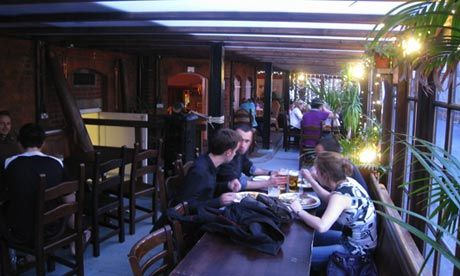 Hip hostel ... Palmer's Lodge in north London is a Victorian, Grade II-listed building