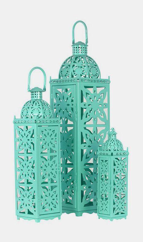3-Piece Ishak Candle Lantern Set