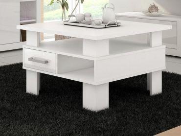 379 zł Biały stolik kawowy Greta od #internumpolska / White Coffee Table http://internum.pl/p/156/460/stolik-greta