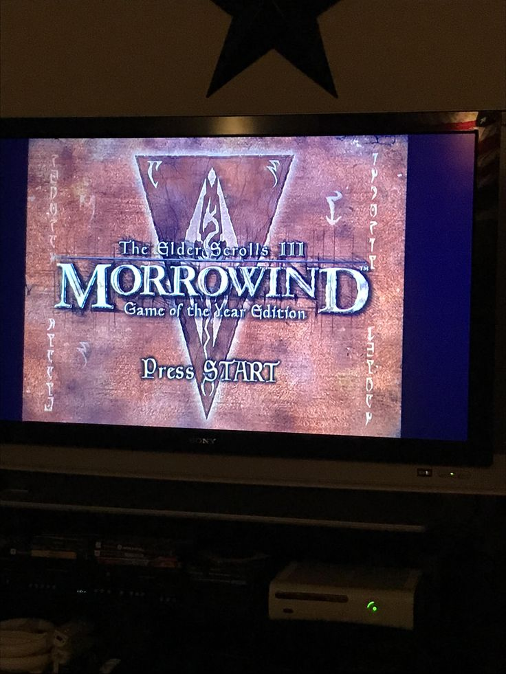 In 2007 I played oblivion for the first time on my PS3. My understanding of gaming forever changed. Now over 1300hrs of Oblivion and Skyrim over I finally got an old Xbox and can play Morrowind. Excitement to the max.