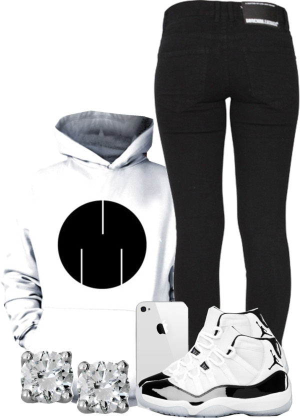 """come kick it with the MSFTS."" by deshariaaa ❤ liked on Polyvore"