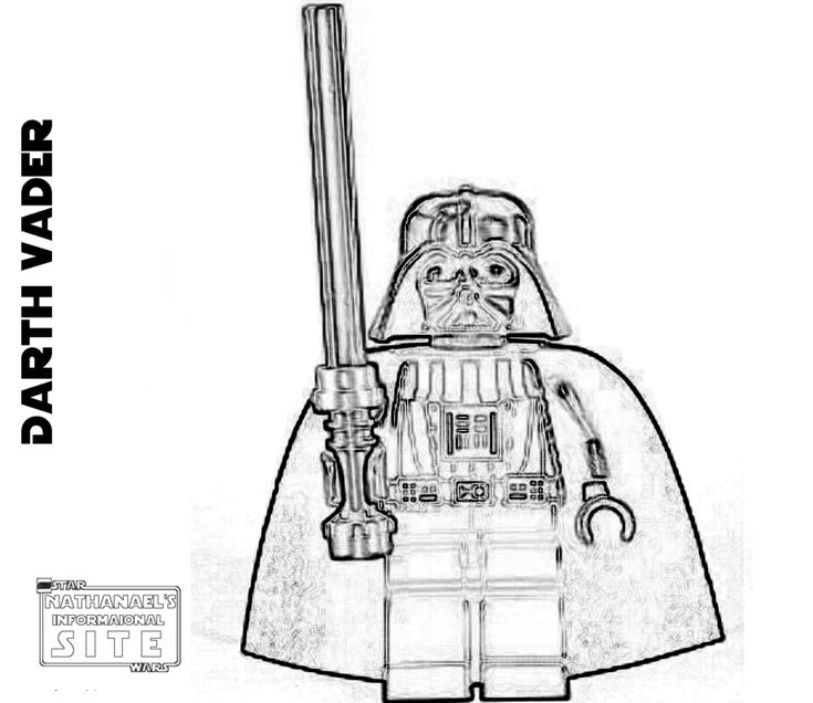 Lego Ewok Coloring Page | Coloring Pages