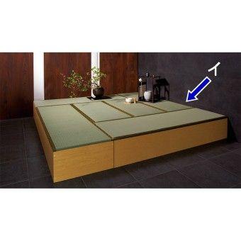 和の空間が作れるユニット畳 高床式で収納庫になるユニット畳。季節物や寝具などを収納できます。おしゃれな和風インテリアはディノスの人気商品です。うたた寝できる簡易畳ベッドとしてもご使用頂けます。