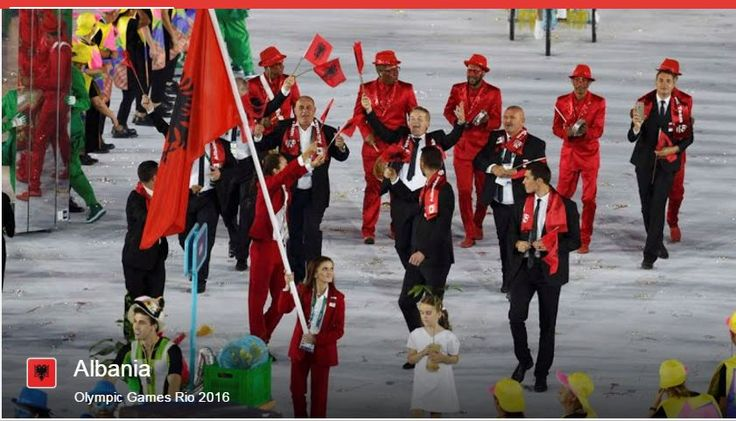 Albania (photo from Google site which lists all participant nations)