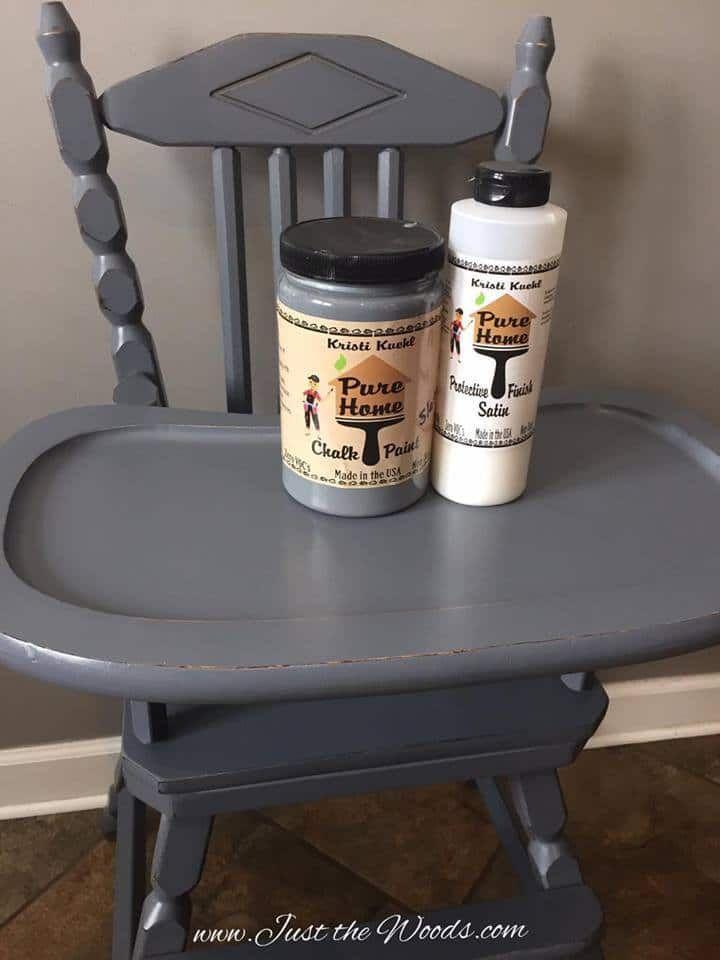 Safe Spray Paint Baby Furniture