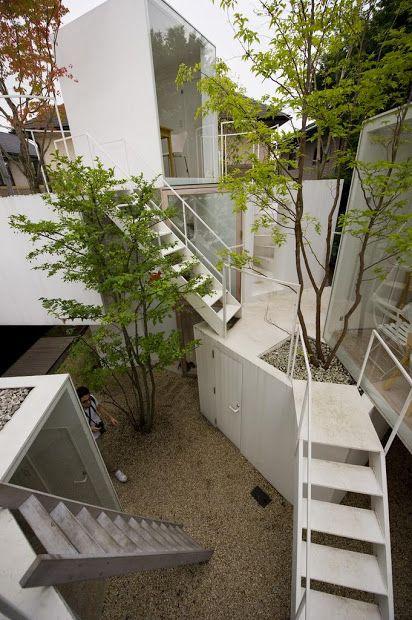 Free runners dream house. Sou Fujimoto house before house. tokyo gas sumika project