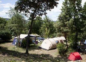Camping in de cevennen met zwembad