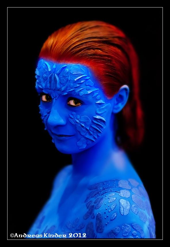 X Men Mystique Human X-Men Mystique Costume...