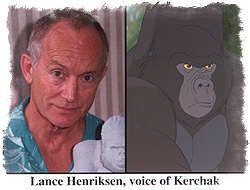 Lance Henriksen - Kerchak (this guy scared the hell out of me as a kid with this character)