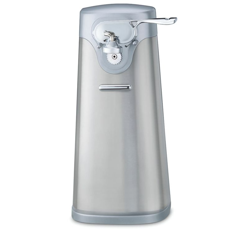 The Best Electric Can Opener - Hammacher Schlemmer - scored highest in every testing category, thereby earning The Best title from the Hammacher Schlemmer Institute.