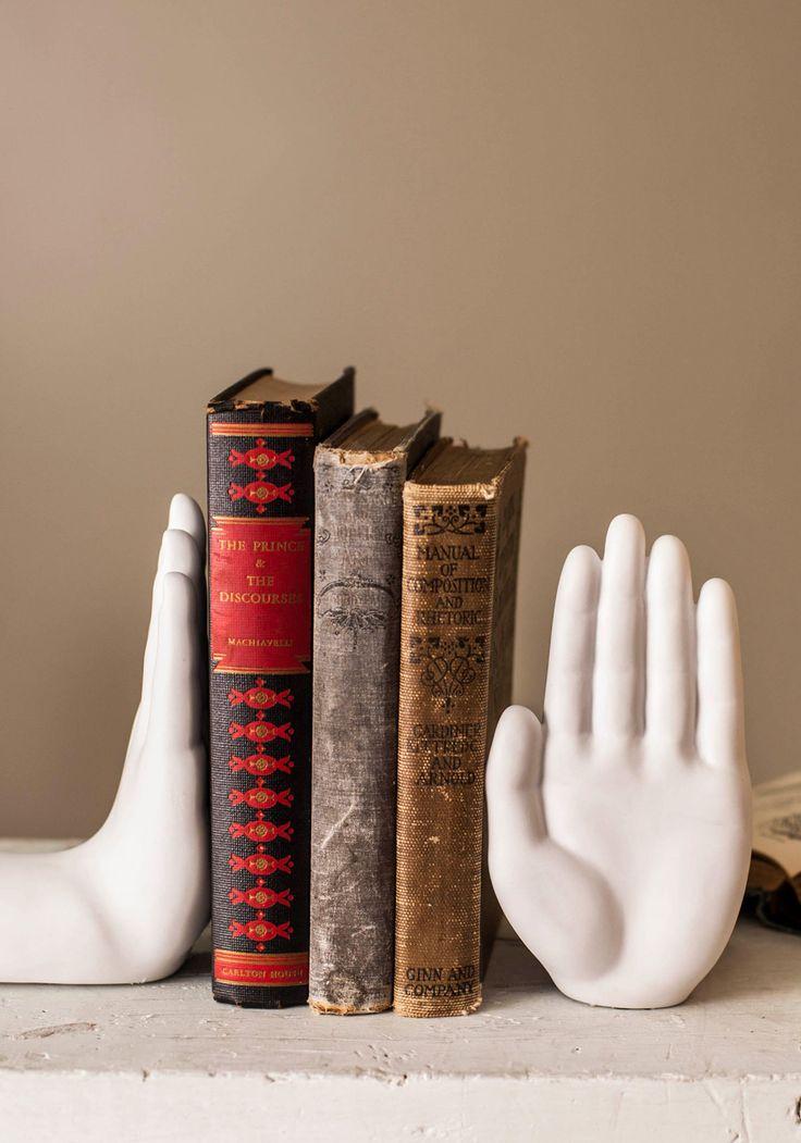 Gimme Five Bookends | Mod Retro Vintage Decor Accessories | ModCloth.com