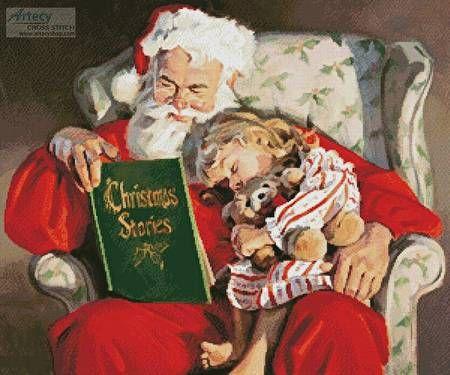 Christmas Stories Cross Stitch Pattern