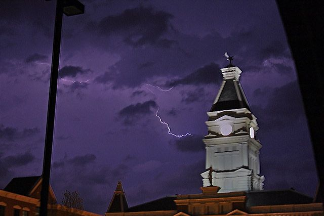 Severe Thunderstorms expected for Clarksville-Montgomery County today