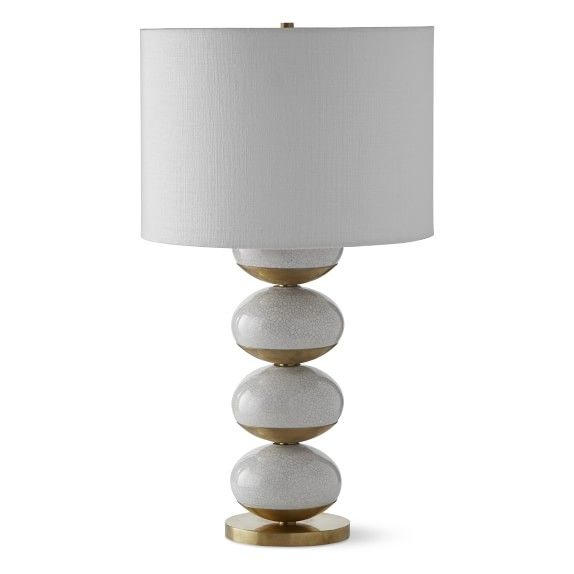 Stacked Orbs Table Lamp Antique Brass Table Top Lamps Table Lamp Lamp