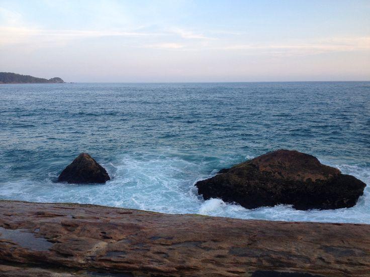 Vista da pedra da Praia do Cepilho em Trindade/RJ