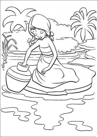 fille indienne coloriage (avec images) | coloriage, livre