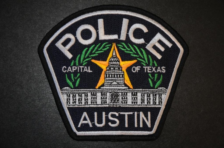 Austin Police Patch, Travis County, Texas (Current Issue) - Capitals Display