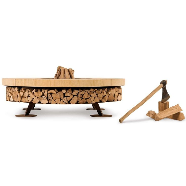 Palenisko Ercole small teak wood marble AK47 2