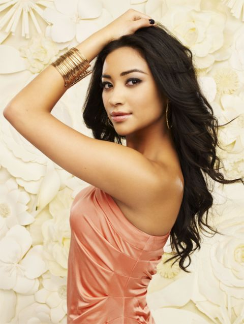 Half Filipino Shay Mitchell- Pretty little liars.