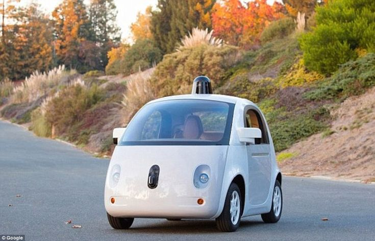 In December 2014 Google unveiled the final design for its own self-driving car (shown), but it doesn't exactly have much of an aesthetic appeal.The first version came under fire for looking like a toy car - and a new rooftop sensor means the second now looks like a toy police car