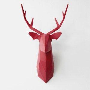 Jeleń na ścianę DIY - Trafiony prezent