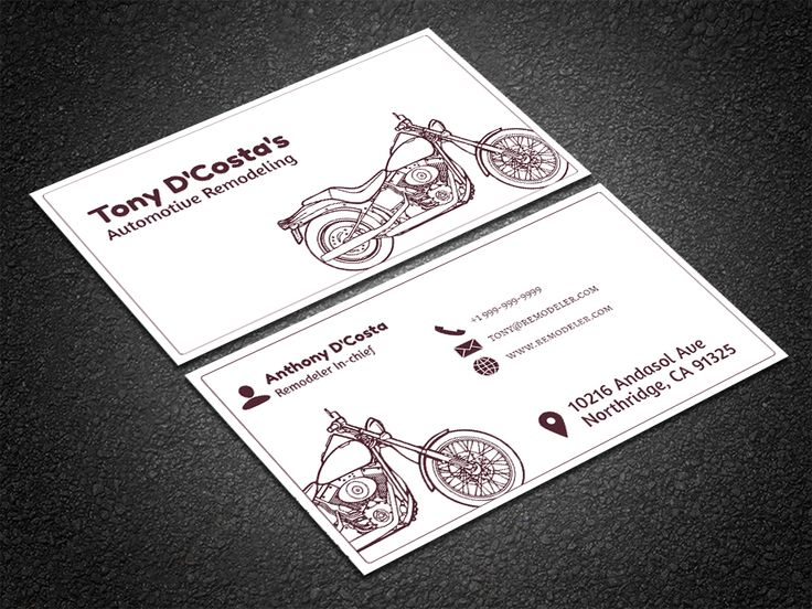 35 best free professional business card edit online and download free auto parts business card reheart Images