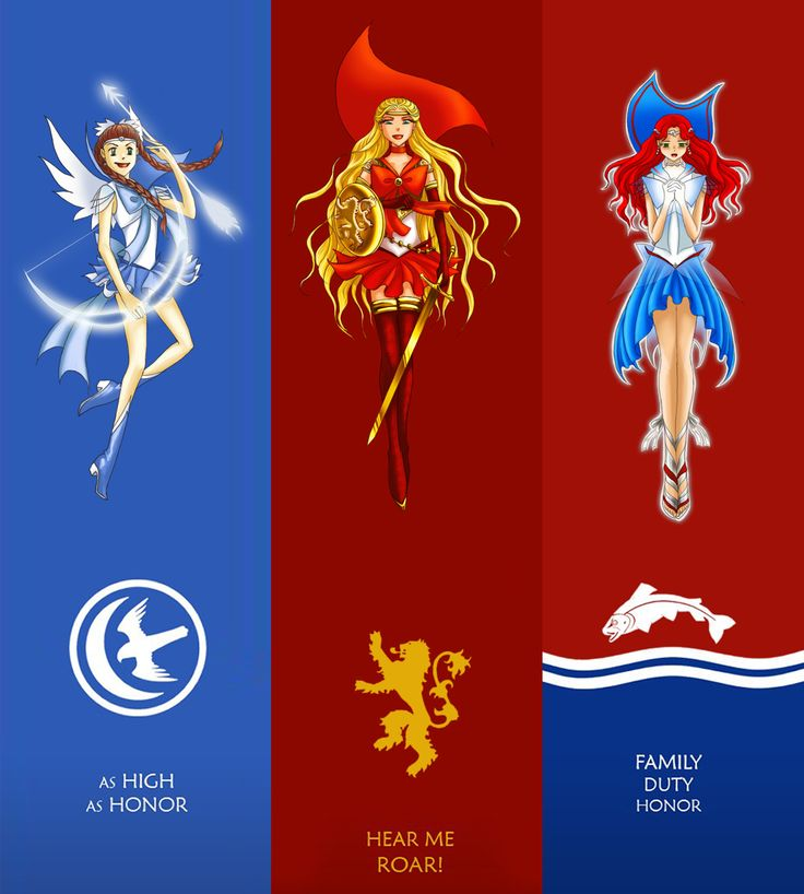 Sailor Scouts of Ice and Fire 2