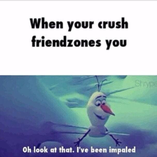 Haha... Ha.... ha...... #frozen #crush #quotes