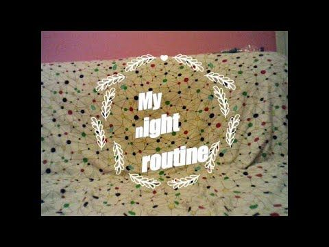 My night routine-Dimdimi