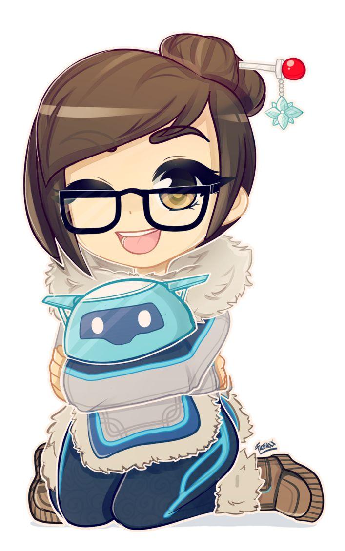 Overwatch | Mei by JessicaFreaxx.deviantart.com on @DeviantArt