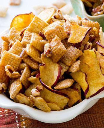 Gluten Free Caramel Apple Chex Mix http://wm13.walmart.com/Cook/Recipes/67444
