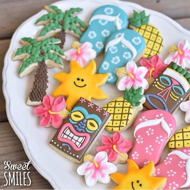 Hawaiian Luau Platter | Cookie Connection