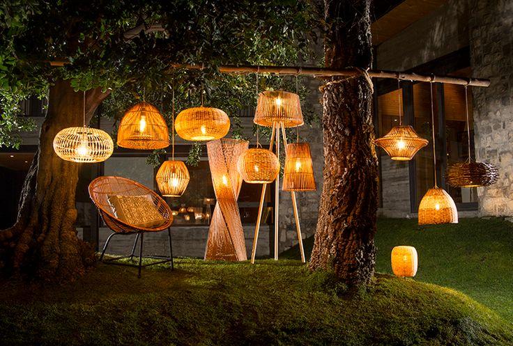 Ilumina tu jardín con los diseños de los artesanos de nuestro país. #Artesanía #Chimbarongo #OrgullososDeLoNuestro