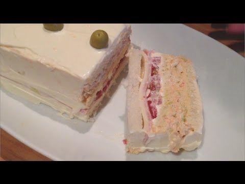 Pastel fácil de atún con pan de molde - YouTube