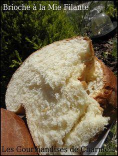 Brioche à la Mie Extra Filante. Faite à la machine à pain.