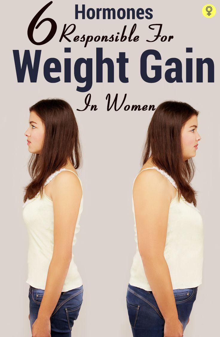 6 Hormones Responsible For Weight Gain In Women