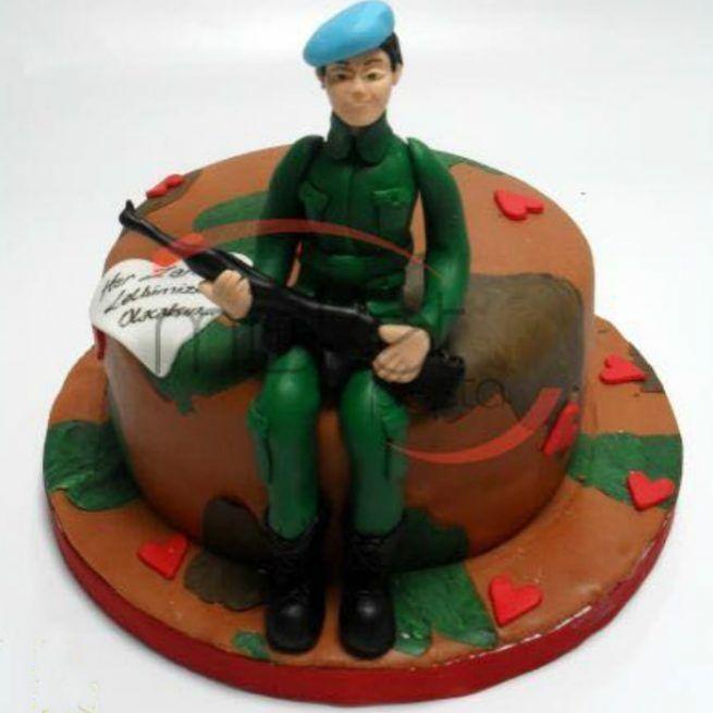 Asker Pastası • 1 Dakikada Sipariş Ver! • Bulvar Pastanesi    #pasta #cake #butikpasta #asker #askerpasta