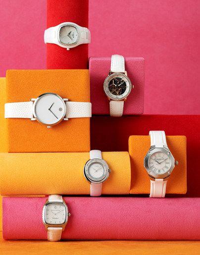 Visual Merchandising | Display; Great way to dispaly watches. Judy Casey - Prop/Set Design - Megan Krieman - Still Life