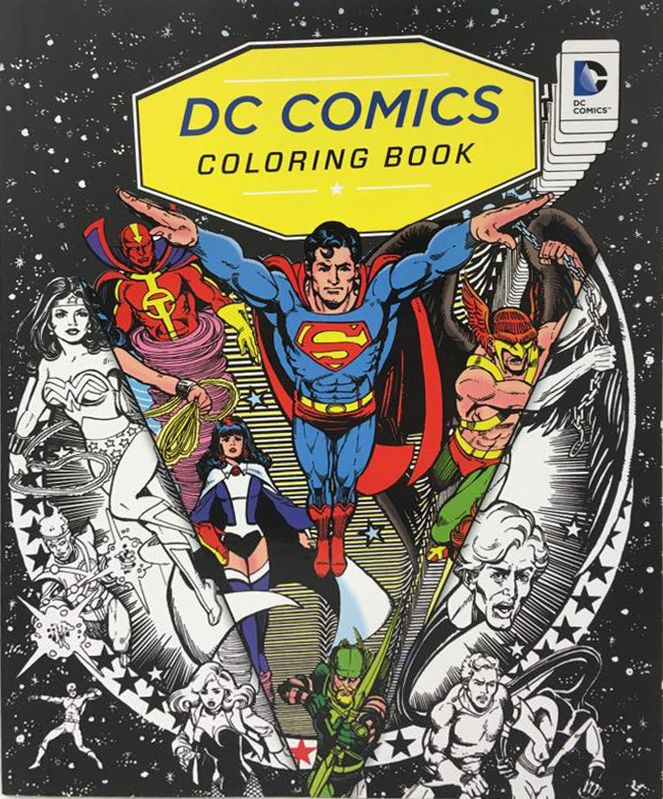 Buy DC Comics Colouring Book From Waterstones Today Click And Collect Your Local Or Get FREE UK Delivery On Orders Over