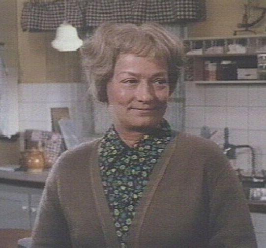 som Berthe Vestergaard, i Pigen og drømmeslottet fra 1974 ...