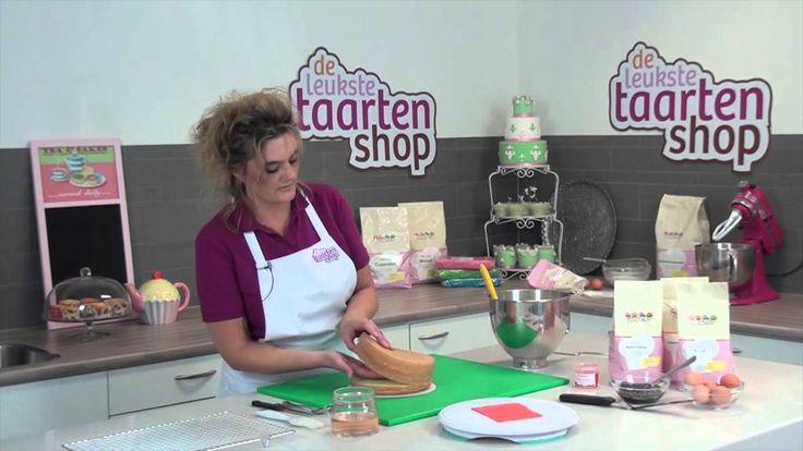 Taart decoreren: zelf taart maken
