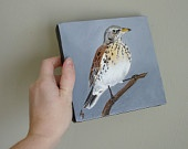 have 8 bird paintings from this woman. would like a few more