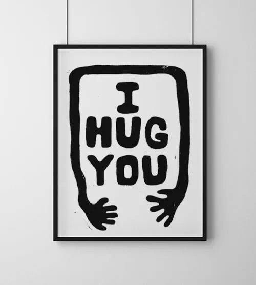 i hug you