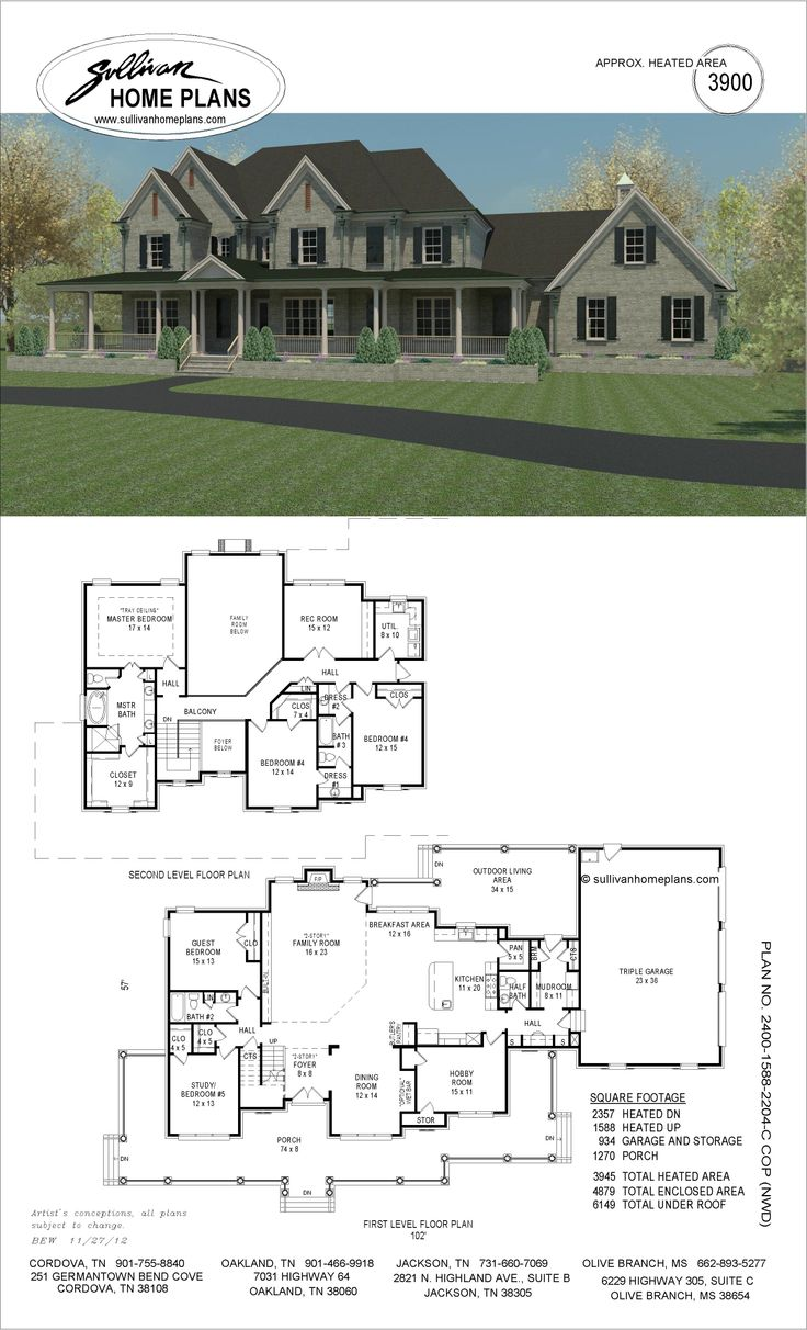 House Plans Jackson Tn House And Home Design